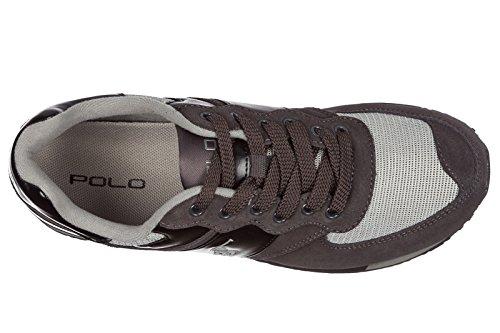 Comprar Barato 2018 Nueva Venta Bajo Precio De Envío De Pago Ralph Lauren Scarpe Sneakers Uomo camoscio Nuove Grigio EU 45 809668429001 Precio Increíble En Línea Para Pre Barato En Línea 9ECbaZ