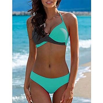 GUOQUNUP Falda De Playa Bikinis Nuevo Traje De Baño Traje De ...
