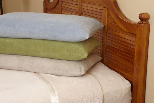 Microfiber Luxury Coral Fleece Bed Sheet Set 6 pieces(Cal...