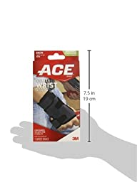 ACE Deluxe Wrist Brace, Small/Medium