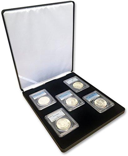 Morgan Dollar Set (Morgan Silver Dollars 5-Coin Mintmark Set (S, P, O, D, CC) PCGS MS-63)