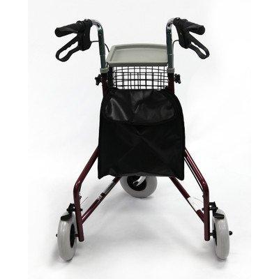 3 Wheel Rollator Frame Color: Metallic Burgundy