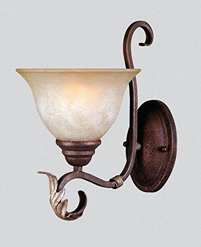 World Imports WI-2622-24 Olympus 1 Light Sconce Wall Fixture, Bronze (Olympus Light Pendant 1)