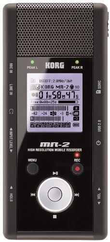 Korg Digital Recorders (Korg MR2 Handheld Portable DSD Recorder with AudioGate Software - Black)