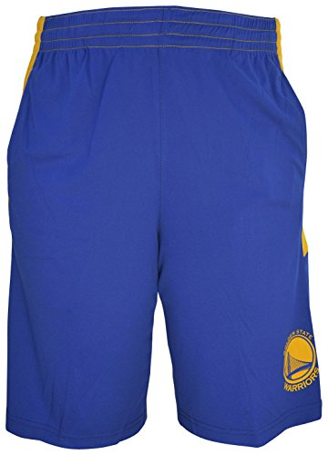 - Golden State Warriors NBA Youth Jersey Athletic Shorts - Blue S