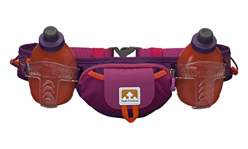 Nathan Trail Mix Plus Hydration Belt, Very Berry/Vivacious, One Size -