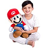 Franco Kids Bedding Soft Plush Cuddle Pillow Buddy, One Size, Super Mario