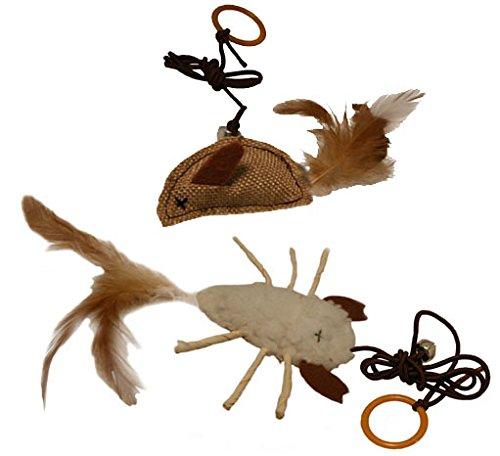 Katzen-Spielzeug, zum Spielen / Jagen, elastische Schnur