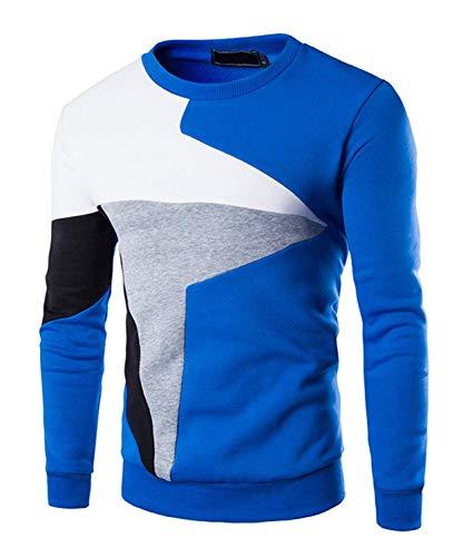 Rond De Tricoté La Blau Confortable Manches Hiver Élégant Rondes Col Mode Pull Battercake Épais Chaud qFPn5YB7