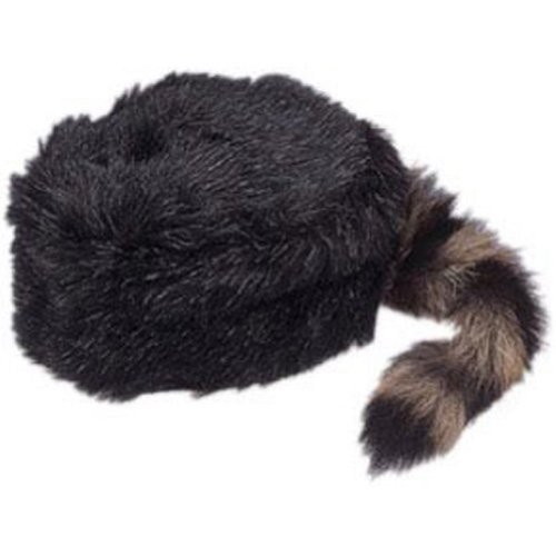 Adult Coonskin Daniel Boone Mountain Man Hat -