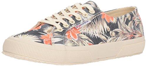 Superga Women 2750 Maufloralw Sneaker Natural Multi