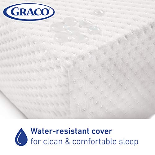 41mv7EZ%2BwgL - Graco Premium Foam Crib And Toddler Mattress In A Box – GREENGUARD Gold Certified, Non-Toxic, Breathable, Removable Washable Water Resistant Outer Cover