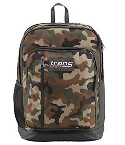 - Jansport Trans Megahertz II Camo HTF Backpack Laptop Book Boys Girls School Bag