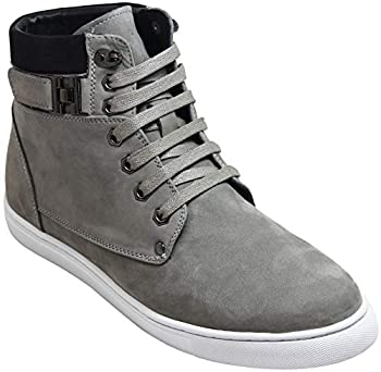 a91e03806d4 CALTO Men's Invisible Height Increasing Elevator Shoes