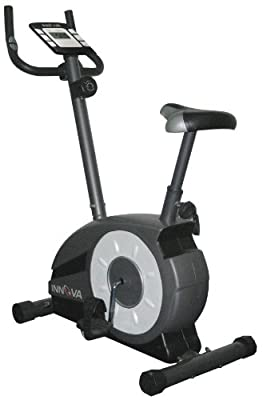 Innova Health and Fitness Upright Bike with Pulse
