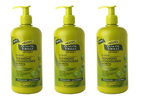 (PACK OF 3) PALMER'S Olive Oil Formula Co-Wash Cleansing Conditioner 16oz