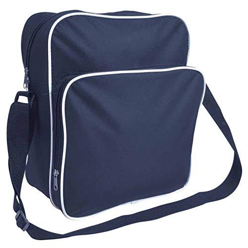 Borsa In Cm Dimensioni 66d E Tasche 2 Regolabile Blu Tracolla X Colori Viaggio 30 35 Poliestere 15 Con rpqwrx