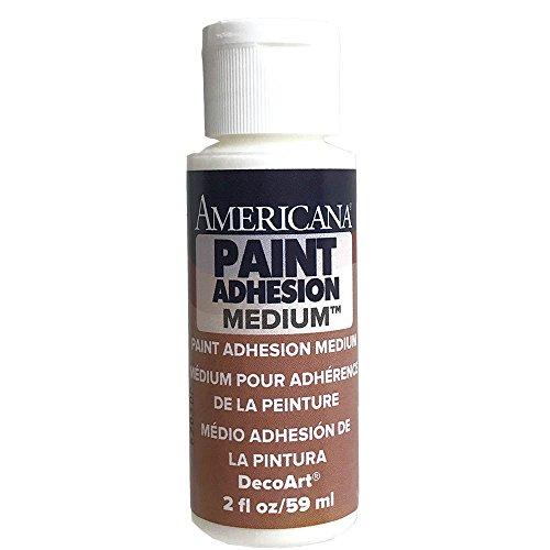 Decoart Painting - DecoArt DS39-3 Americana Paint Adhesion Mediums Paint, 2-Ounce