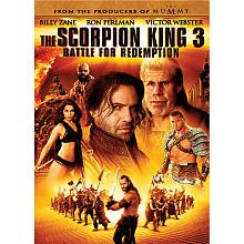 The Scorpion King 3: Battle for Redemption DVD