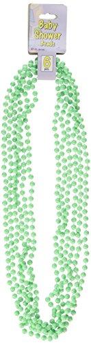 Baby Shower Beads (mint green)    (6/Card)