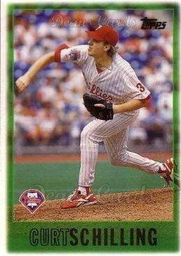 Curt Schilling Phillies 1997 Topps #368 Curt Schilling Phillies