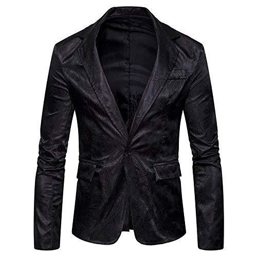 Di Cappotto Slim Da Suit Uomo Tuxedo Sposa Mode Giacca Blazer Grigio Schwarz Fit Bolawoo Elegante Marca Manica Cocktail Lunga Vintage X5vqf