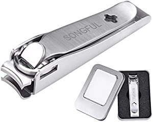 Nail Clippers with Catcher Nail Clipper Fingernail Clippers…