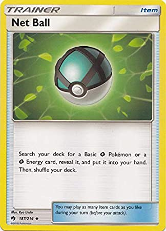 Pokemon SM LOST THUNDER NET BALL 187//214 UNCOMMON