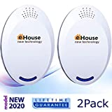 BH-4 Ultrasonic Electronic Repellent - Best Plug in - Get Rid of - Rodents,...