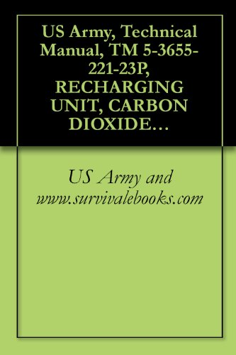 (US Army, Technical Manual, TM 5-3655-221-23P, RECHARGING UNIT, CARBON DIOXIDE PUMP MET MODEL SC-5 (NSN 3655-01-053-0578))