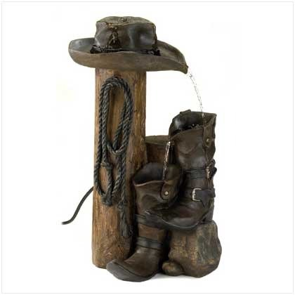Wild Western Water Fountain -