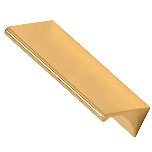 Alno A970-35-PB Tab Pulls Modern Pulls Polished Brass