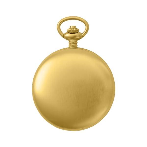 Charles-Hubert-Paris-3780-G-Gold-Plated-Mechanical-Pocket-Watch
