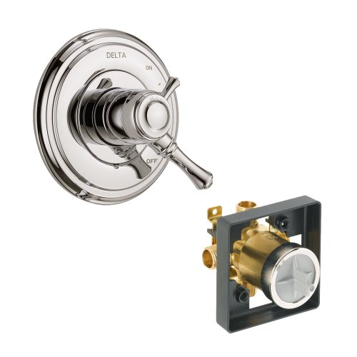 Delta Delta KVODCA-T17097-PN Cassidy Valve Only Kit Pressure-Balance Dual-Function Cartridge, Polished Nickel Polished Nickel