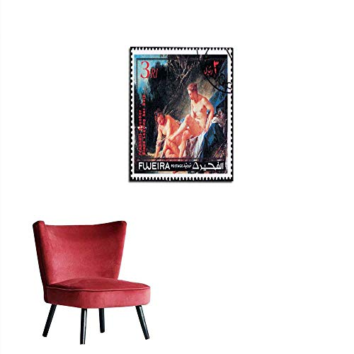 longbuyer Wall Sticker Decals Fujeira Postage Stamp Painting Francois Boucher Diana Leaving her Bath Mural 20