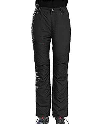 UAISI Women's Ski Pants Insulated Snow Pants Winter Waterproof Down Pants Plus Size - Thick and Warm
