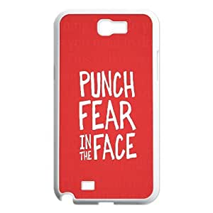 Case for Samsung Galaxy Note 2, Punch Fear Case for Samsung Galaxy Note 2, Dustin White