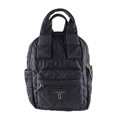 Marc Quilted Jacobs Satchel (Marc Jacobs Women's Nylon Knot Backpack (Black))