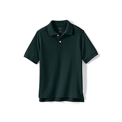 Lands' End School Uniform Big Kids Short Sleeve Performance Mesh Polo, XL, (Lands End School Uniforms)