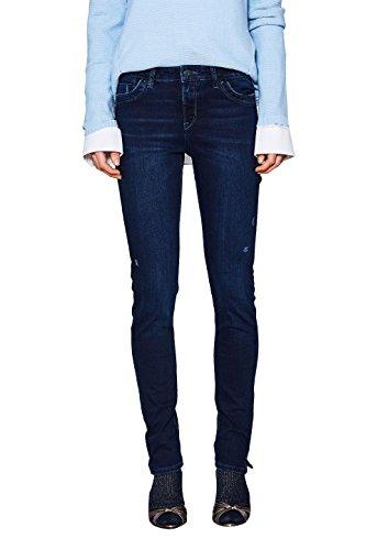 Esprit Vaqueros Slim para Mujer Azul (Blue Dark Wash 901)