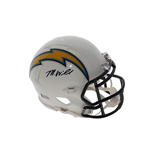 Mike Williams Autographed Signed Los Angeles Chargers Speed Mini Helmet - Beckett/Fanatics Authentic