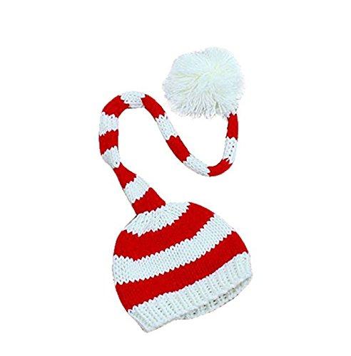 yoIoYベビー幼児ニットかぎ針編み暖かい帽子クリスマスPhotopraphy Prop B075ZM19WY Prop B075ZM19WY, オオヨドチョウ:630b845b --- ijpba.info