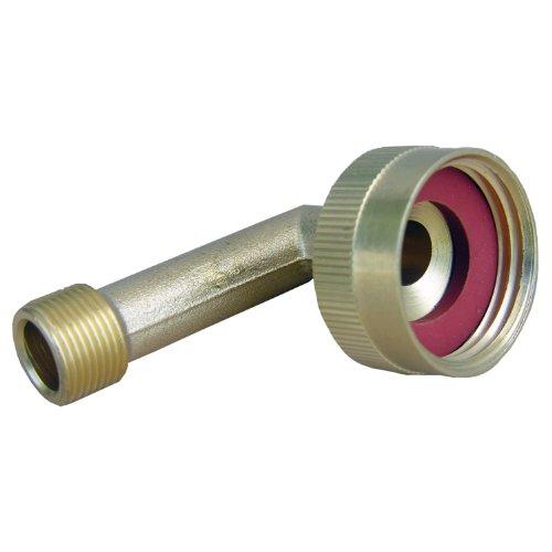 - LASCO 17-8389 3/4-Inch Female Garden Hose Thread Swivel by 3/8-Inch Compression Brass 90-Degree Ell/Elbow