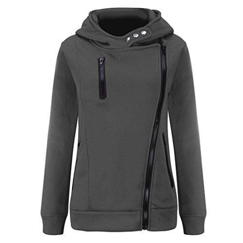 Nice Kixing TM Women Casual Long Sleeve Plus Velvet Thickened Hooded Sweater Zipper Coat supplier