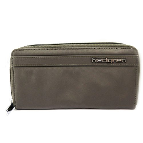 Zip holder wallet checkbook wallet Zip 'Hedgren' fabric mole rOrq78nxw