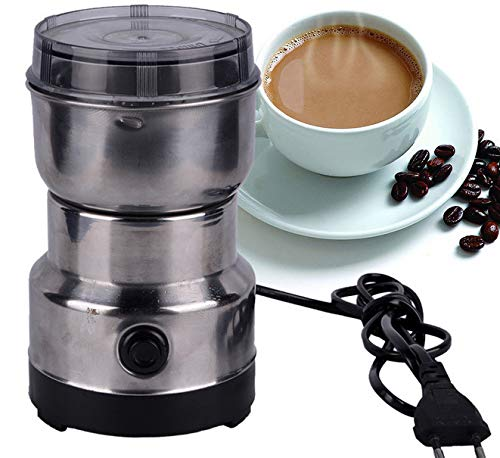 Acrodi Electric Coffee Grinder for Beans, Spices and More, Stainless Steel Blades