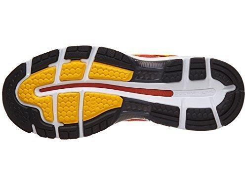 - ASICS Mens Gel-Nimbus 19 Running Shoe, Red/Fusion/Phantom, 13 D(M) US