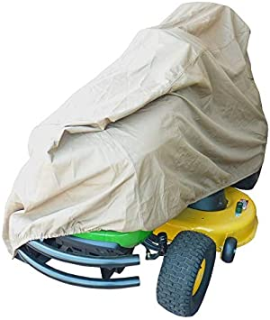 """Deluxe Riding Lawn Mower Tractor Cover Yard Garden Fits Decks up to 54/"""" Grey"""