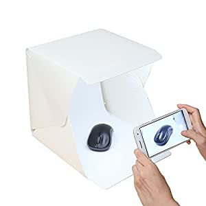 amazon com folding portable lightbox studio take pictures like a