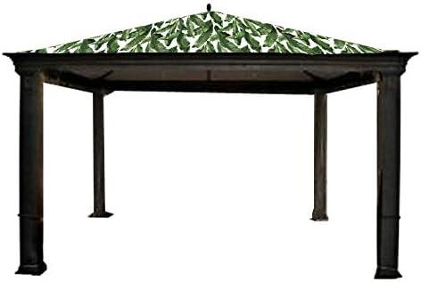 Garden Winds Tiverton Series 3 Gazebo Replacement Canopy – Standard 350 – Palm